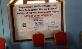 Workshop at Bajhang